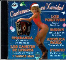 Cantemos en Navidad Los Fugitivos,Angelica Maria  y Otros   BRAND  NEW SEALED CD