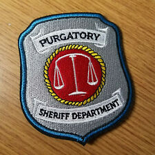 Wynonna Earp Purgatory Patch 3 inches wide 3 1/2 inches tall