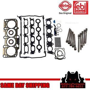 OEM MK4 VW 1.8T 1.8 Turbo Cylinder Head Bolt Gasket Set Headgasket Jetta GTI 99+