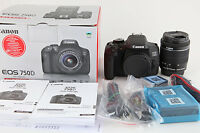 Canon EOS 750D Kit mit EF-S 18-55 mm 1:3,5-5,6 IS STM
