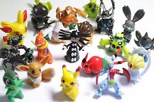 26pcs Pokemon Monster Mini figure 3-4cm Action Figures in Cute Toys gift Random