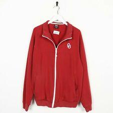Vintage NIKE Small Logo Zip Up Sweatshirt Red Medium M