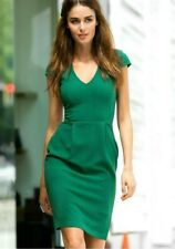 H&M EMERALD GREEN SHEATH DRESS  SMALL