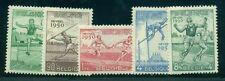 Belgium #B480-4 Complete set, Athletic Games, og, Nh, Vf, Scott $83.95