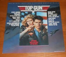 Top Gun Soundtrack Poster 2-Sided Flat Square 1986 Promo 12x12 Tom Cruise