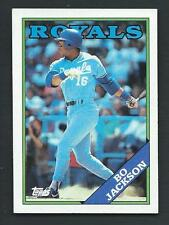 Bo Jackson 1988 Topps Card #750; NM-Mint; Kansas City Royals