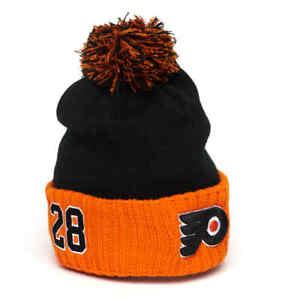 Philadelphia Flyers Claude Giroux number 28 №28 hat cap NHL hockey club #28