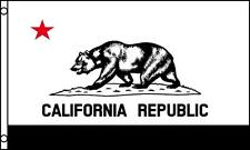 Black And White California State 3X5 Flag #724 3X5 foot banner 3 X 5 bear new