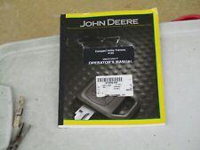 John Deere, Compact Utility Tractors 4100 Operator's Manual Omlvu12593 F1