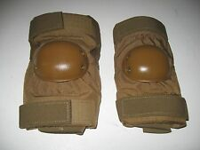 NEW US Army Military USMC Coyote ALTA Tactical Elbow Pads LARGE L Mustard Cap