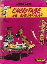 L'Héritage de Ran Tan Plan - Lucky Luke - Edition Dargaud 1973