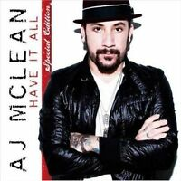 A.J. MCLEAN - HAVE IT ALL NEW CD