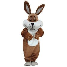 Super Brown Bunny Professional Quality Lightweight Mascot Costume