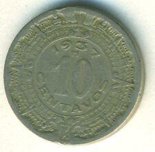 MEXICO COIN 10 CENTAVOS 1937 COPPER - NICKEL