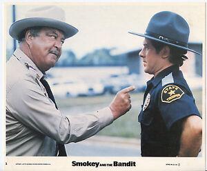 SMOKEY AND THE BANDIT photo JACKIE GLEASON/ALFIE WISE original color lobby still