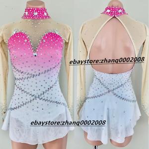 Ice Skating Dress.Stunning Figure Skating Dress.Tailor-made baton dancing dress