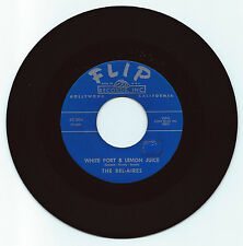 DOO WOP 45 BEL-AIRES WHITE PORT & LEMON JUICE ON FLIP STRONG VG ORIG 2ND PRESS