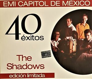 "THE SHADOWS  "" 40 EXITOS""     MEXICAN  2CD"