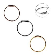 22g Segment Ring Earring Sleeper Clicker Nose Septum Hoop Ring Bar Twist Captive