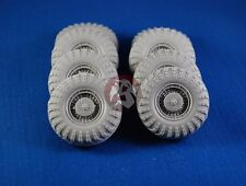 Tank Workshop 1/35 Scud MAZ-543 Launcher Wheels Set (8 wheels) (Dragon) 355040