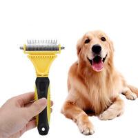 1PC Professional Pet Grooming Undercoat Rake Comb Dematting Tool Dog Cat Brush O