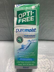 Opti-Free Puremoist Multi-Purpose Disinfecting Solution 10-Ounces 3/23