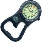 NEW FIRST HAND HEALTHCARE CLIP BELT WATCH BLACK FACE RING COMPASS PARAMEDIC