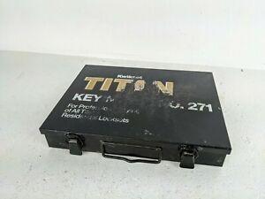 Kwikset Titan Lock Pin Keying Set, No. 271