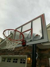 "Lifetime 52"" 90491 Adjustable Portable Basketball Hoop - Used Once -"