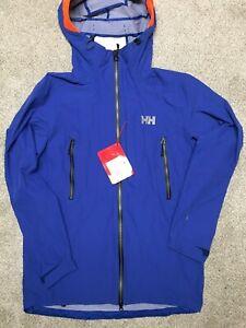 Helly Hansen Men's Large Bragi Charge Softshell Jacket (Style #62660) *NWT* 2016