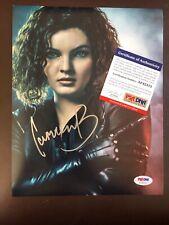 Carmen Bicondova Sexy Catwoman Signed Gotham 8x10 Photo Autographed PSA/DNA COA