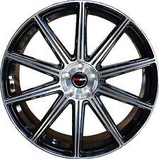 4 GWG WHEELS 22 inch Black Rims MOD Rims fits FORD RANGER 2WD 2000 - 2011