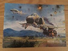 MILITARY GALLERY OLDER ADVERTISING BROCHURE A4 TAYLOR TRUDGIAN ROWE
