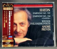 Andre PREVIN VPO Haydn:Symphonies Nos.102 & 104  JAPAN SHM - CD NEW UCCD-9901