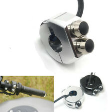 """7/8"""" Motorcycle Scooter Handlebar Switch Turn Signal Light Horn Reset Buttons"""
