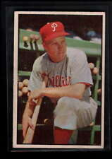 1953 BOWMAN COLOR #10 RICHIE ASHBURN VG-EX D8097
