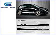 1 Paar ALFA ROMEO - Auto Seiten Aufkleber - Sticker - Decal <!>