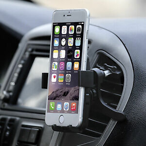360° Car Mount Holder Stand Air Vent Cradle For iPhone Mobile Cell Phone GPS
