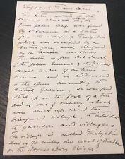More details for vintage original autograph signed letter - third anglo-burmese war interest