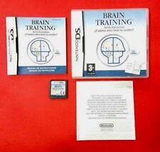 Brain Training - Nintendo DS - USADO - BUEN ESTADO