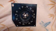 Vintage Zenith Radio Metal Blackface Dial- Radio Model Unknown