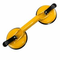 Heavy Duty Aluminum Suction Cup Plate Double Handle Glass Puller/Lifter/Griper