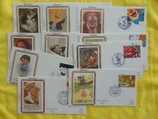 Stamps/FDC/Benham/1990/Smiles
