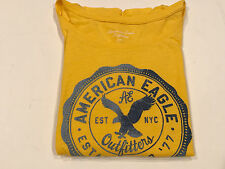 American eagle outfitters womens t-shirt small long sleeve yellow