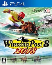 Koei Tecmo Games Winning Post 8 2018 SONY PS4 PLAYSTATION 4 JAPANESE VERSION