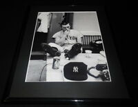 Roger Maris Smoking Framed 11x14 Photo Display Yankees