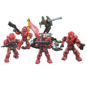 NEW Mega Bloks Construx Halo UNSC Fireteam stingray figure building dlb95