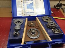 Record Power Rp3000x Power Chuck 3/4x16 Complete Boxed Woodturning Wood Lathe