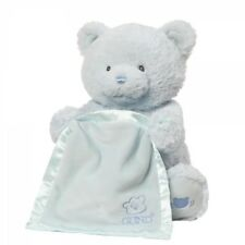 GUND Baby 4059953 Baby GUND My First Teddy Peek A Boo Blue Soft Toy