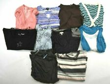 Wholesale Bulk Lot of 10 Womens XL Business Casual Long Sleeve Shirts Blouses